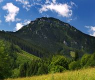 Mountain. Choc mountain in Orava region, Slovakia royalty free stock photography