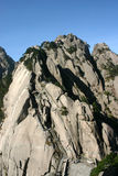 Mountain. The high mountain in china ,people climb the mountian by the little path Stock Photography