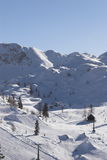 Mountain. Vogel, Slovenia royalty free stock photos
