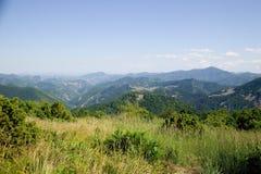 Mountain. View from Rodopi mountain Bulgaria royalty free stock image