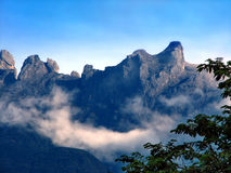 Mountain. This is Mount Kinabalu in Sababh; The highest mountain in south east asia royalty free stock photos