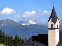 Mountain Abbey Royalty Free Stock Image