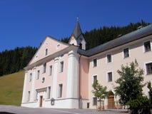 Mountain Abbey Stock Image