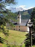 Mountain Abbey Stock Photo