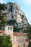 Mountain abbey of Montserrat Royalty Free Stock Photo