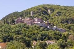Mountain abruzzo village Royalty Free Stock Images