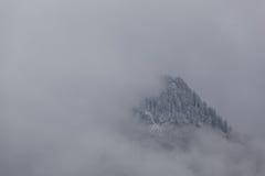 Mountain Abstract, Rhone Alps Stock Photos