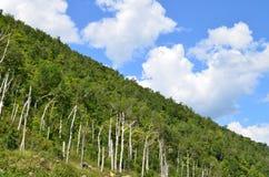 Mountain in Adirondacks. With sharp sides Stock Photo