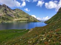 Mountain湖Adueda 免版税库存照片