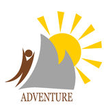 Mountain adventure Stock Photo