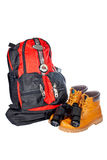 Mountain adventure kit Royalty Free Stock Photo