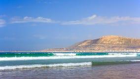 The Mountain in Agadir, Morocco Stock Images