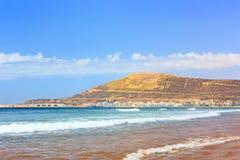 The Mountain in Agadir, Morocco Royalty Free Stock Image