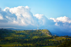 mountain Ai-Petri, the Crimea Stock Images