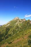 Mountain Aibga. Of Caucasus ridge in summer day Stock Photos