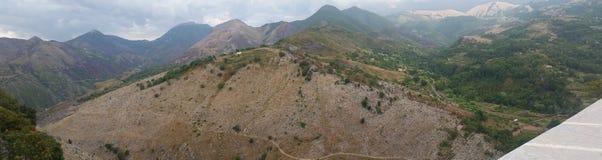 Mountain of Aieta Calabria. Wiew of Mountain of Aieta Calabria Italy royalty free stock photos