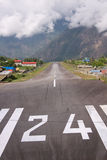 Mountain Airfield Stock Photography