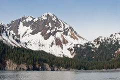 Mountain on Alaskan coast Royalty Free Stock Photo