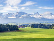 Mountain Allgau Stock Images