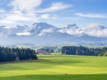 Mountain Allgau Stock Images