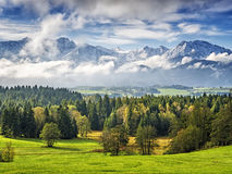 Mountain Allgau Royalty Free Stock Photos