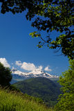 Mountain in the Alps Royalty Free Stock Images