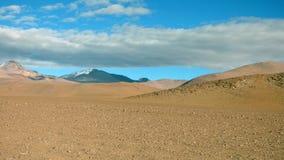 Mountain in Altiplano. Bolivia, south America. Royalty Free Stock Photo