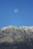 Mountain&moon Image libre de droits