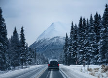 Mountain And Road Royalty Free Stock Images
