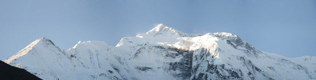 Mountain Annapurna Royalty Free Stock Photos