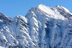 Mountain in Aosta Valley Stock Image
