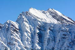 Mountain in Aosta Valley Royalty Free Stock Photo