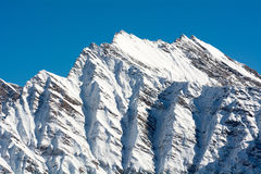 Mountain in Aosta Valley Royalty Free Stock Photography