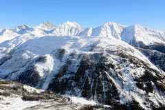 Mountain in Aosta Valley Royalty Free Stock Photo