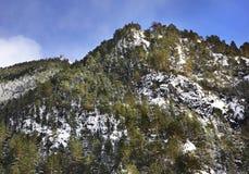 Mountain in Arans. Principality of Andorra Royalty Free Stock Photos