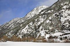 Mountain in Arans. Principality of Andorra Stock Photos