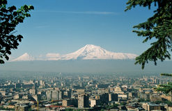 Mountain Ararat. Royalty Free Stock Photography