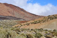 Mountain area, Teide, Tenerife. Royalty Free Stock Photo