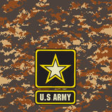 Mountain Army camouflage background Royalty Free Stock Photo