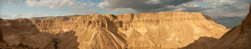Mountain around The Dead Sea Royalty Free Stock Photography