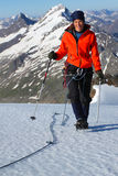 Mountain ascent Stock Photos