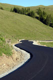Mountain asphalt Royalty Free Stock Photo