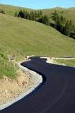 Mountain asphalt Royalty Free Stock Photo
