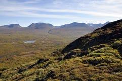 Mountain in autumn Royalty Free Stock Photo