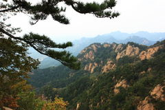 Mountain at autumn Stock Photos