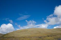Mountain in autumn Stock Photography