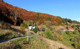The mountain autumn landscape Stock Photo