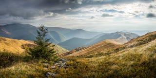 Mountain autumn landscape Stock Images