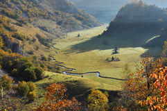 Mountain autumn landscape Royalty Free Stock Photography