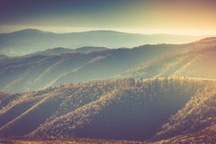 Mountain autumn landscape. Royalty Free Stock Photography